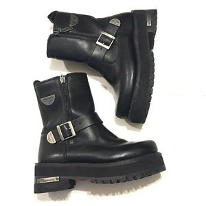 Milwaukee Women's Afterburner Motorcycle Boots